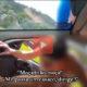Mulher sem roupa invade carro tentando fugir do marido após suposta traição