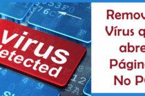 Como remover vírus que abre várias páginas (Ou o vírus driver.bat)