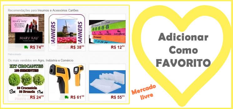 0834b950f28 Como adicionar um produto como favorito no Mercado Livre